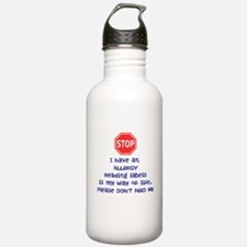 Labels Water Bottle