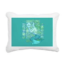 Pisces Seas Rectangular Canvas Pillow