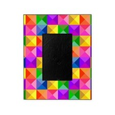 Jewel Tone Geometric Pattern Picture Frame