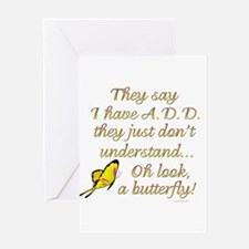 ADD Butterfly Greeting Cards