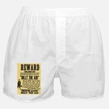 Billy The Kid Dead or Alive Boxer Shorts