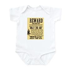 Billy The Kid Dead or Alive Infant Bodysuit