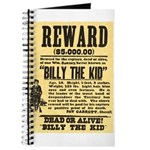 Billy The Kid Dead or Alive Journal