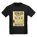 Billy The Kid Dead or Alive Kids Dark T-Shirt