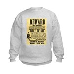 Billy The Kid Dead or Alive Kids Sweatshirt