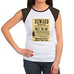 Billy The Kid Dead or Alive Women's Cap Sleeve T-S