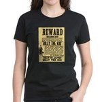 Billy The Kid Dead or Alive Women's Dark T-Shirt
