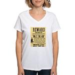 Billy The Kid Dead or Alive Women's V-Neck T-Shirt