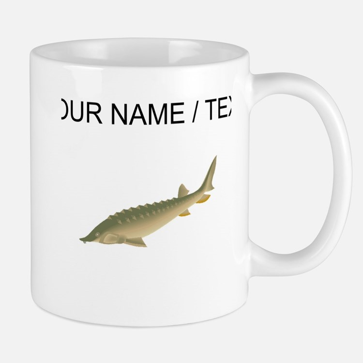 Custom Sturgeon Mugs