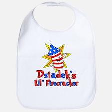 Dziadek's Little Firecracker Bib