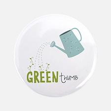 "Green Thumb 3.5"" Button"