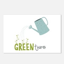 Green Thumb Postcards (Package of 8)