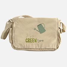 Green Thumb Messenger Bag