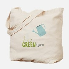 Green Thumb Tote Bag