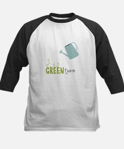 Green Thumb Baseball Jersey