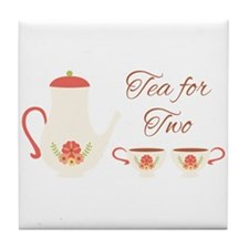 Time for Tea Tile Coaster