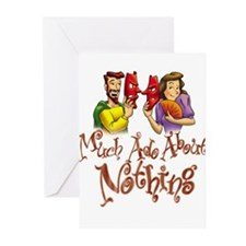 Unique Drama masks Greeting Cards (Pk of 20)