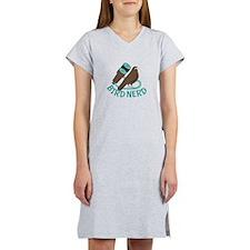 Bird Nerd Women's Nightshirt