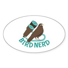 Bird Nerd Decal