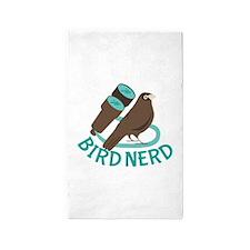 Bird Nerd 3'x5' Area Rug