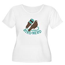 Bird Nerd Plus Size T-Shirt