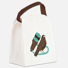 Binoculars Bird Canvas Lunch Bag