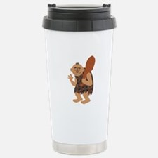 Cave Man Travel Mug