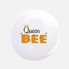 "Queen Bee 3.5"" Button"