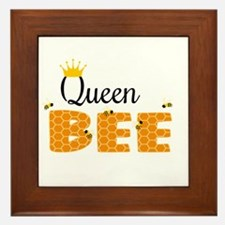 Queen Bee Framed Tile