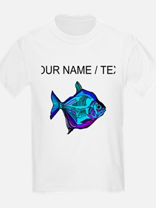 Custom Silver Dollar Fish T-Shirt