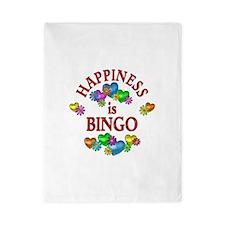 Happiness is Bingo Twin Duvet