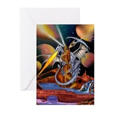 CELESTIAL DRAGON Greeting Cards