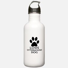 Love Otterhound Dog Sports Water Bottle