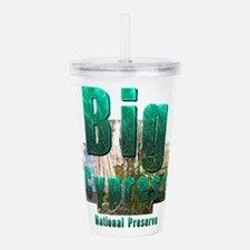 bigcypress2 Acrylic Double-wall Tumbler