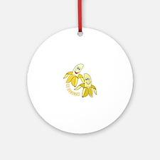 Go Bananas Ornament (Round)