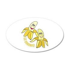 Go Bananas Wall Decal