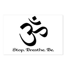 Om: Breathe & Be. Postcards (Package of 8)