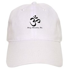 Om: Breathe & Be. Baseball Cap