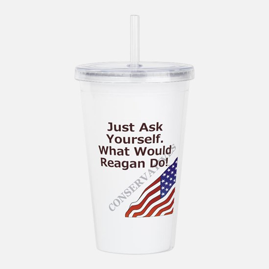 Conservative Mantra Acrylic Double-wall Tumbler