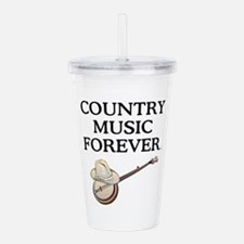 Country Music Forever Acrylic Double-wall Tumbler