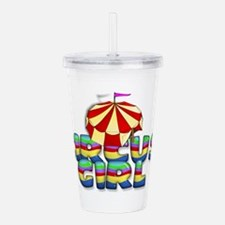 carnivalgirl2a.png Acrylic Double-wall Tumbler