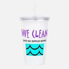 Dive Clean Acrylic Double-wall Tumbler