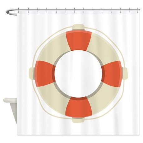 Life saver shower curtain by embroidery16 for Shower curtain savers