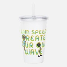 Create Your Own Wave Acrylic Double-wall Tumbler