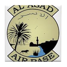 Al Asad Air Base.psd.png Tile Coaster
