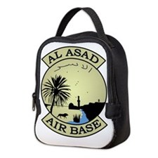 Al Asad Air Base.psd.png Neoprene Lunch Bag