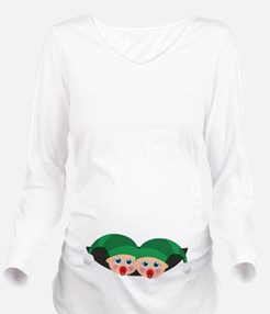 Christmas Unknown Long Sleeve Maternity T-Shirt