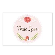 True Love Postcards (Package of 8)