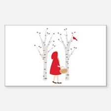 Red Riding Hood Decal