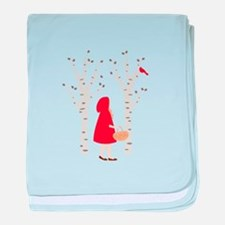 Red Riding Hood baby blanket